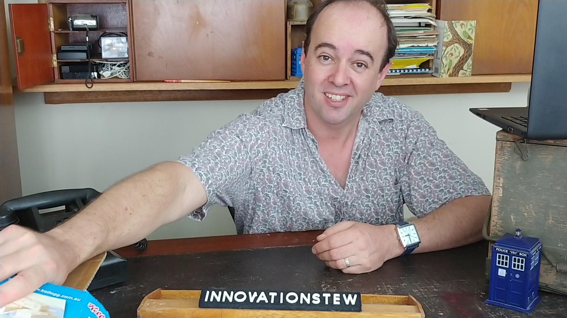 Jonathan Stilts CNRL Library Innovation Studio