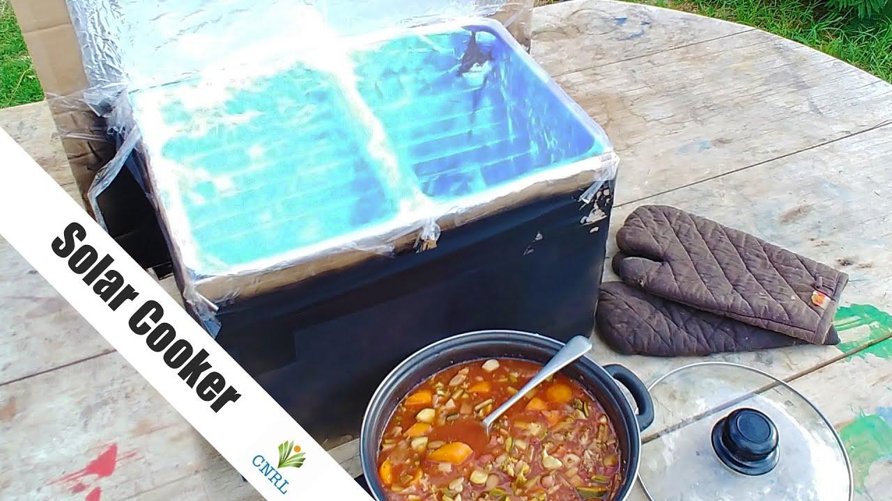 Make a Solar Cooker